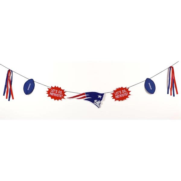 Patriots Team Celebration Banner
