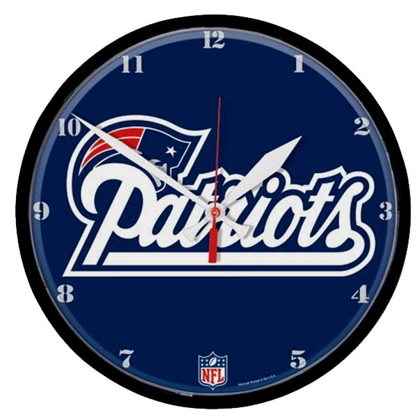Patriots Wall Clock