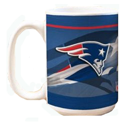 Patriots 11oz Logo Helmet Mug-White