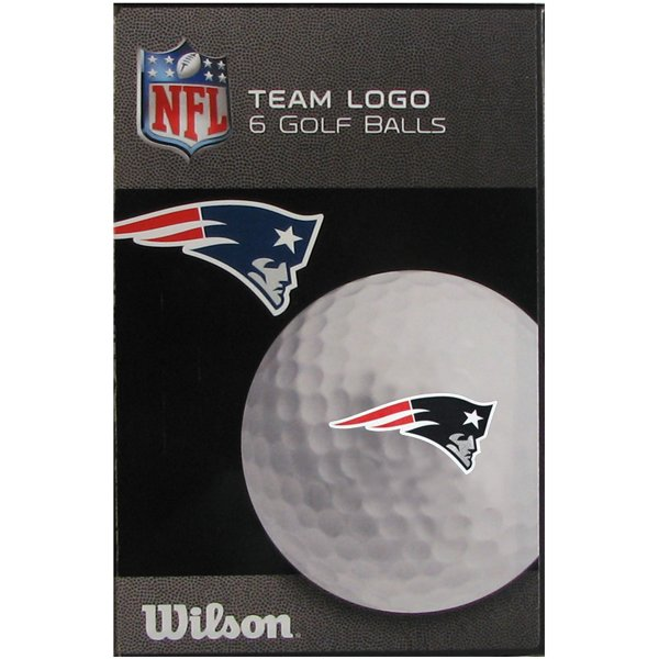Patriots Logo Wilson Ultra Golf Balls-6Pack