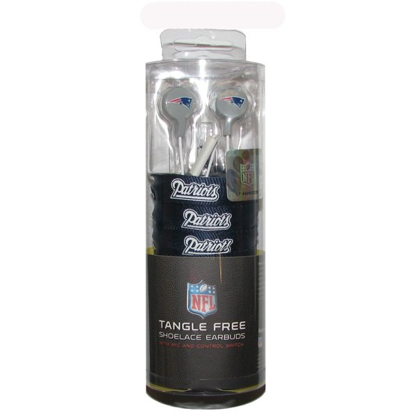 Patriots Shoelace Earbuds