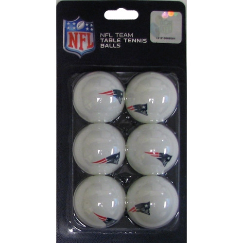 Patriots Table Tennis Ball 6 Pack
