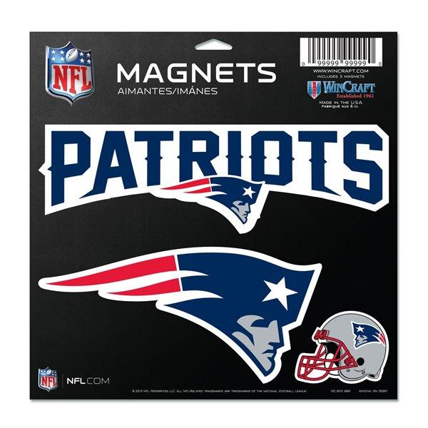 Patriots 11x11 Vinyl Magnet Sheet
