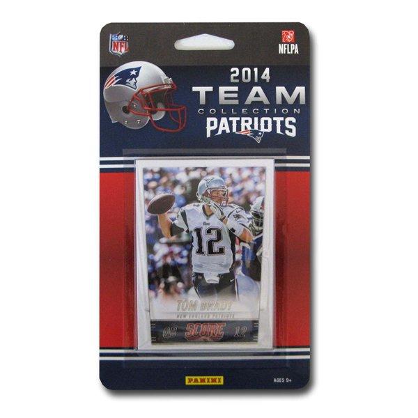 Patriots 2014 Score Team Card Set