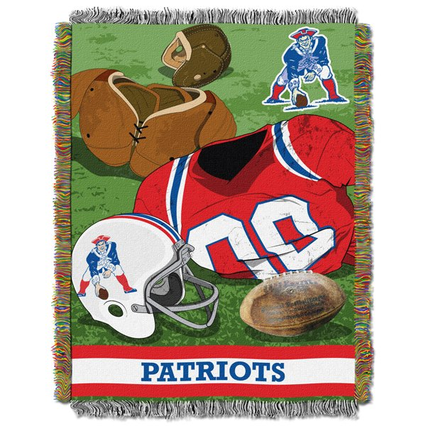 Patriots Throwback Blanket