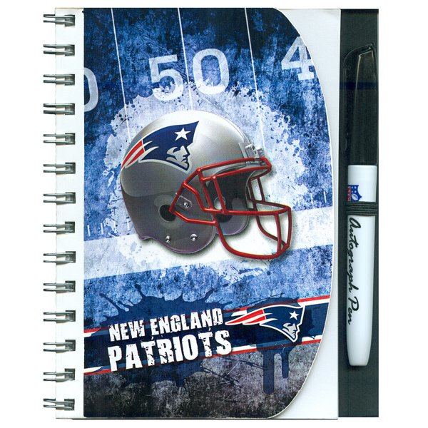 Patriots Autograph Book and Pen Set
