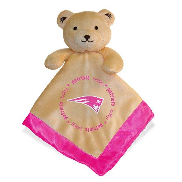 Patriots Baby Snuggle Bear-Pink
