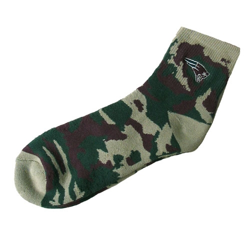 Mens Quarter Camouflage Socks