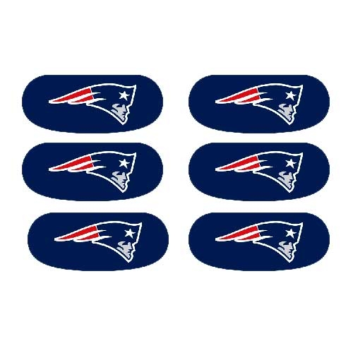 Patriots Face Stickers