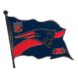 Patriots Flag Pin