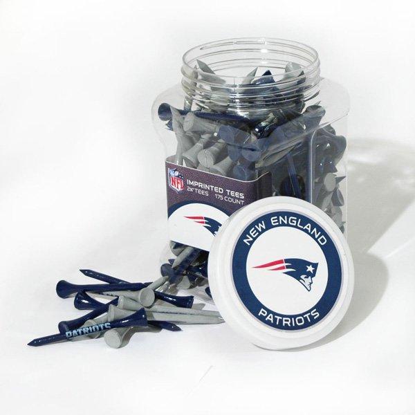 Patriots Jar of Golf Tees