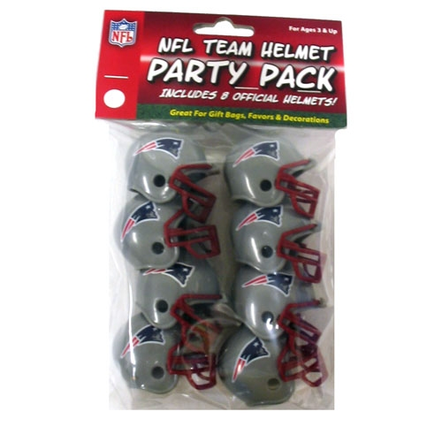 Patriots Helmet Party Packs