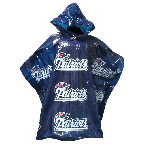 Patriots Rain Poncho