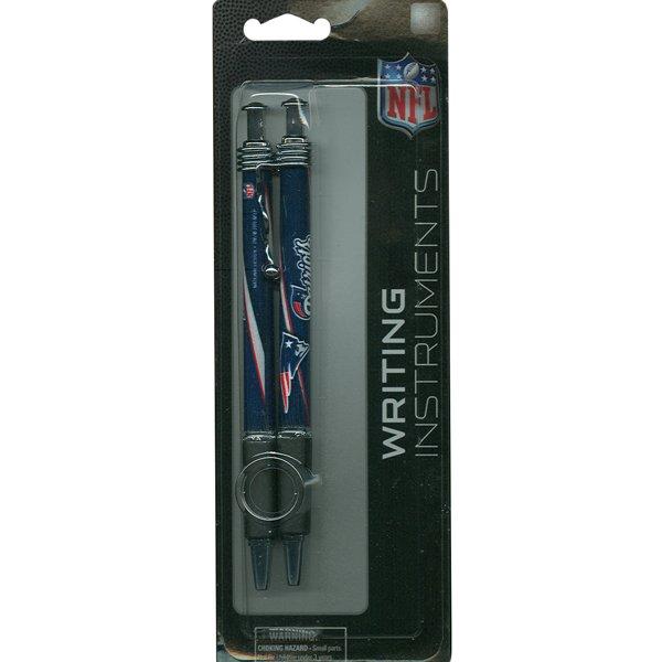 Patriots Jazz Pens-2 pk