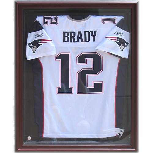 Pats Jersey Display Case