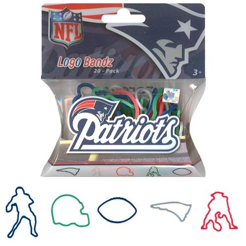 Patriots 20 Pack Logo Bandz