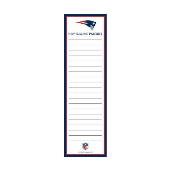 Patriots Magnetic List Pad
