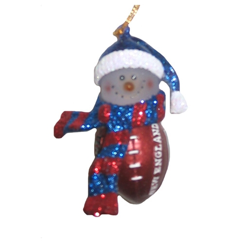 Mini Acrylic Snowman Ornament