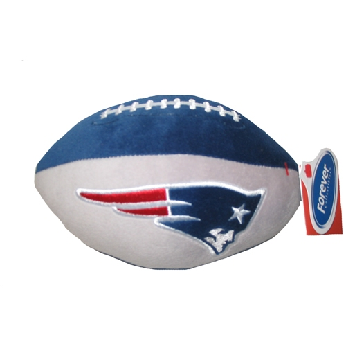 Pats 71/2 inch Plush Football