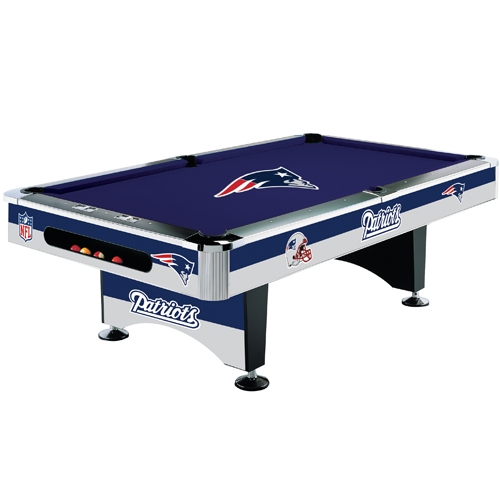 Patriots 8foot Pool Table
