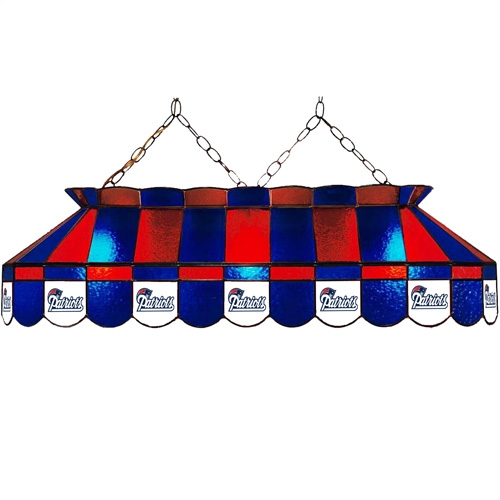 Patriots 40inch Glass Billiard Light