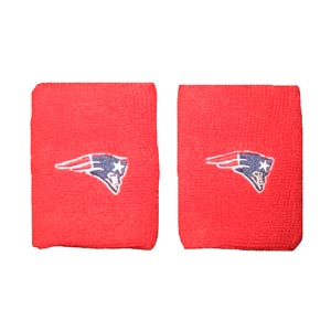 Pats Terry Wristbands-Red