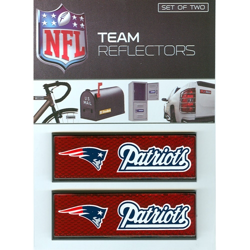 Patriots Team Reflectors-2 pack