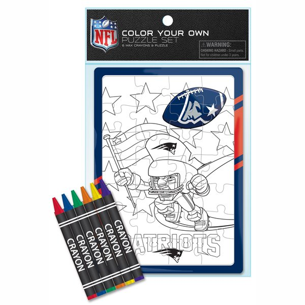 Patriots Rush Zone Color Puzzle