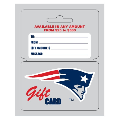 Patriots ProShop Gift Cards