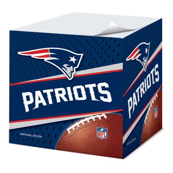 Patriots Sticky Note Cube