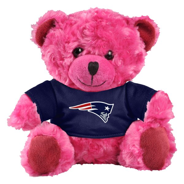 Patriots 7.5 Inch T-Shirt Bear-Pink