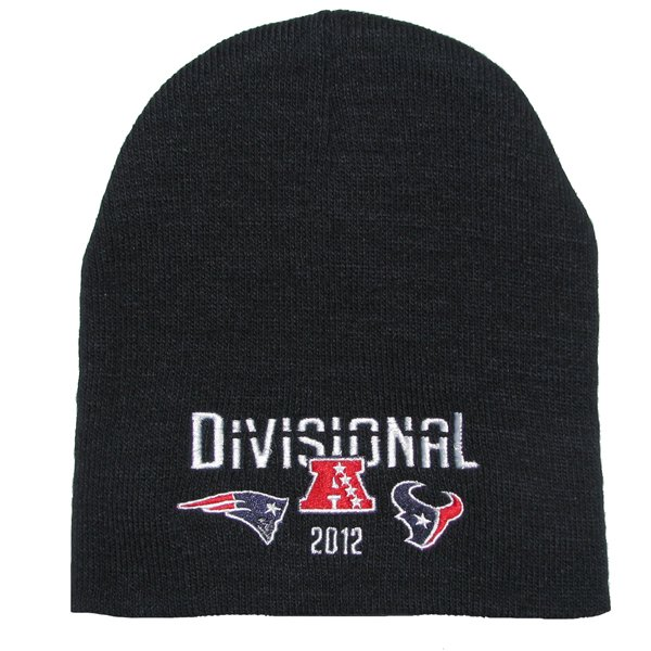 Patriots vs Texans Dueling Knit Hat