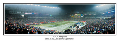2003 AFC Champs Panoramic Print