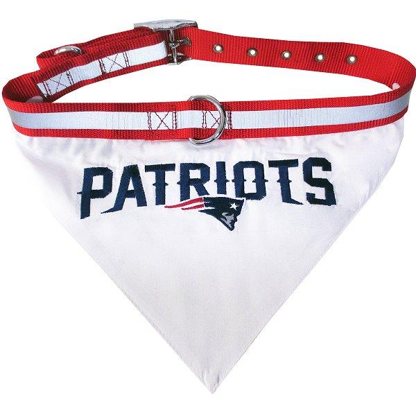 Patriots Pet First Collar Bandana