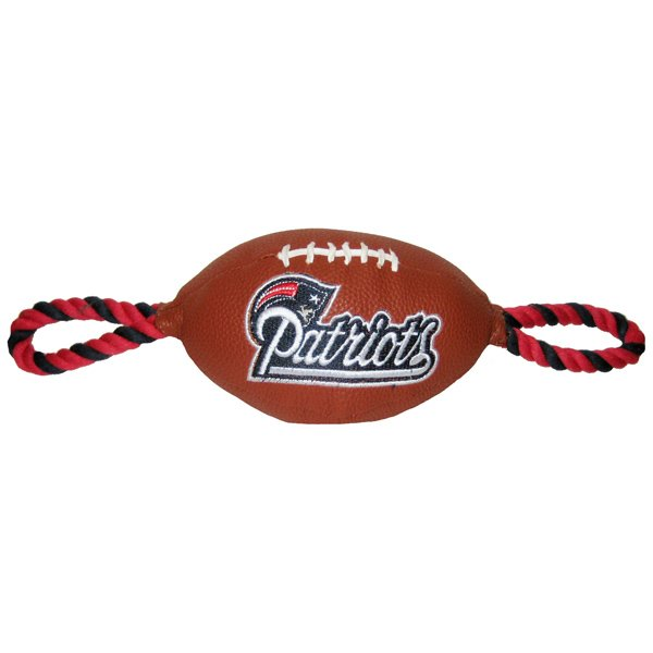 Pets First Pebble Grain Football Toy