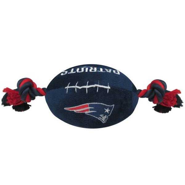 Patriots Plush Football Toy