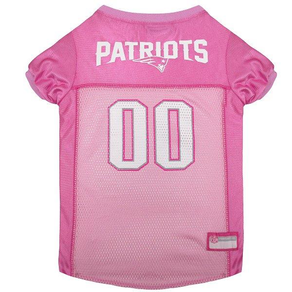 Patriots Mesh Pet Jersey-Pink