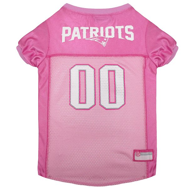 Patriots Mesh Pet Jersey-Pink