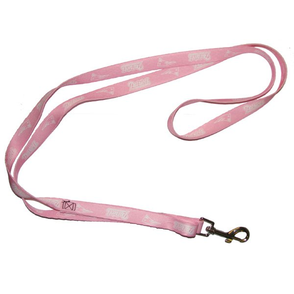 Patriots 6-foot Pink Pet Leash