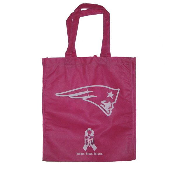 Patriots Reusable Pink Ribbon Bag