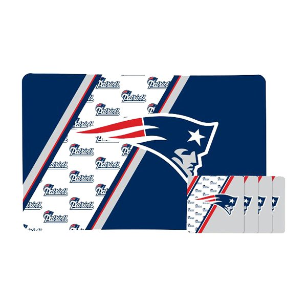 Patriots Placemat and Coaster Set(4)
