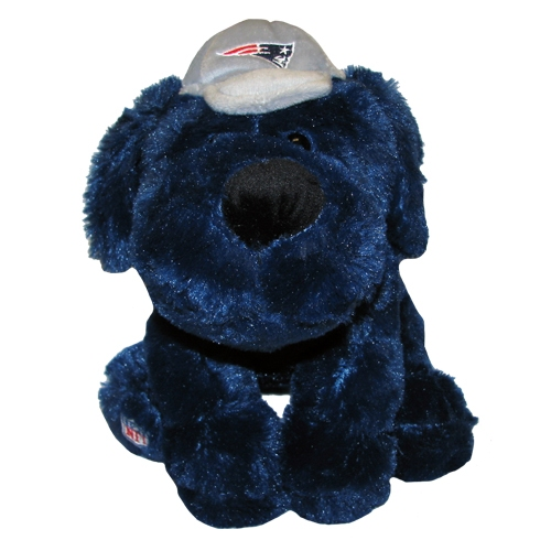 Patriots Plush Dog