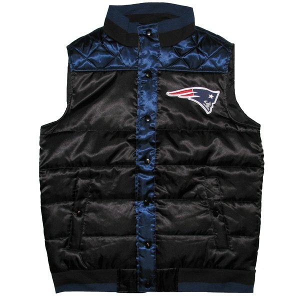 Patriots Polar Vest-Black/Navy