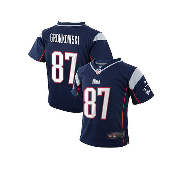 2014 Preschool Nike Rob Gronkowski Game Jersey-Navy