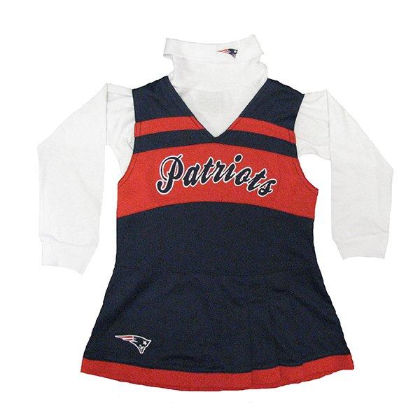 Patriots Preschool Cheer Jumper