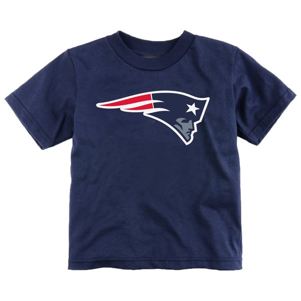 Preschool Patriots Logo Tee- Navy