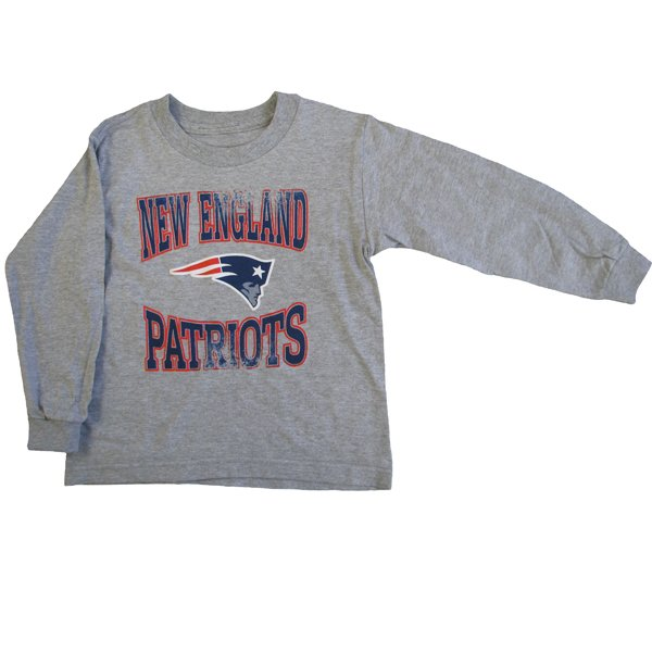 Preschool Home Turf Long Sleeve Tee-Gray