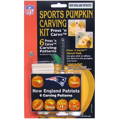 Patriots Pumpkin Carving Kit