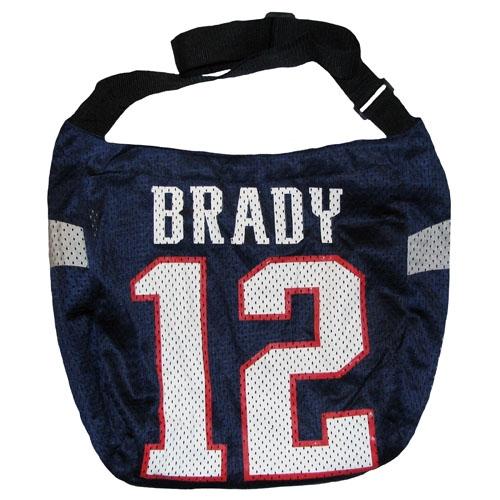 Tom Brady Jersey Tote Bag