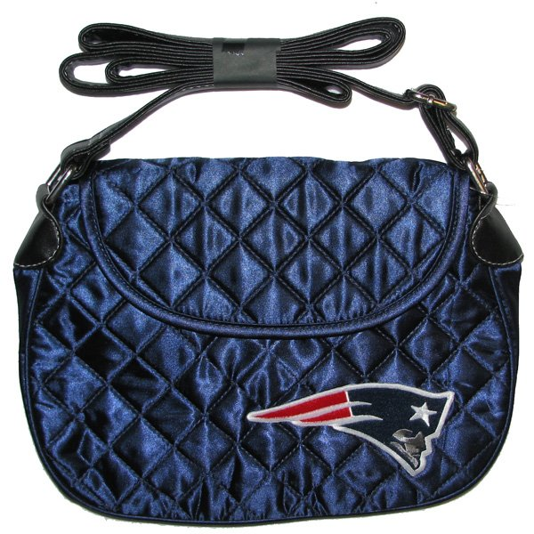 Quilted Saddlebag-Navy